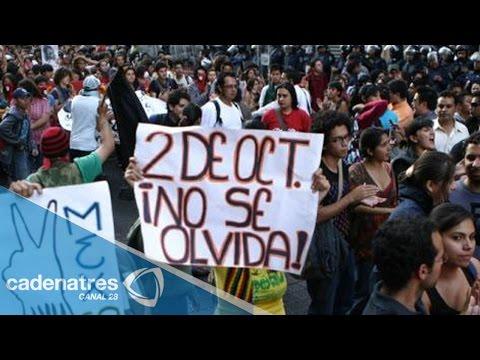 Alistan marcha conmemorativa del 02 de octubre