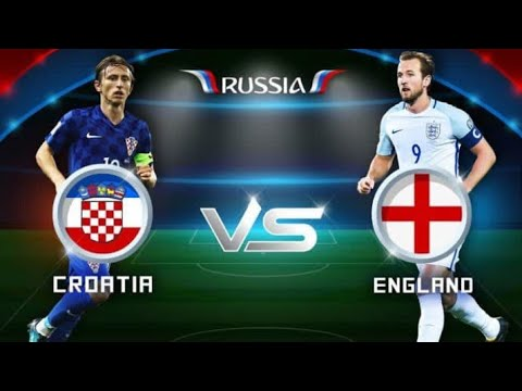 Croatia vs England Starting Squads Worldcup 2018