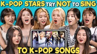 Video K-POP STARS REACT TO TRY NOT TO SING CHALLENGE (MOMOLAND  모모랜드) MP3, 3GP, MP4, WEBM, AVI, FLV Desember 2018