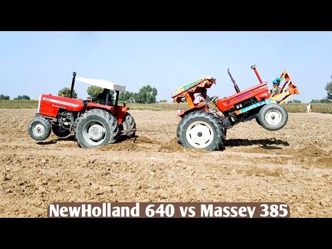 Massey 385 vs Fiat 640 tochan MOQBLA jast for fun