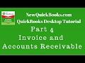 QuickBooks Desktop Tutorial Part 4: Invoice and Accounts