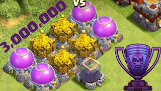 Video Biggest Raid in Clash of Clans HISTORY - 3 MILLION Resources! MP3, 3GP, MP4, WEBM, AVI, FLV Juni 2017
