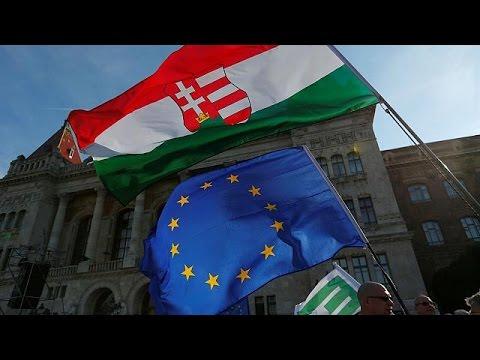 Ουγγαρία: Αντικυβερνητικές διαδηλώσεις