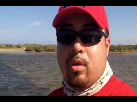 Texas Kayak red fishing trip July 2012