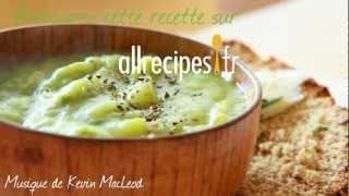 Soupe rapide de poireaux