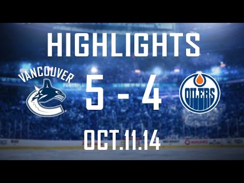Canucks - The Canucks erase 2 separate 2 goal deficits and complete the comeback with a shootout win in their home opener over the Edmonton Oilers. The game was full o...