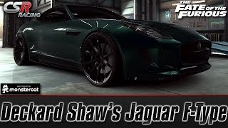Nonton CSR Racing 2: Deckard Shaw's Jaguar F-Type | The Fate of the Furious [Recruit Shaw] Film Subtitle Indonesia Streaming Movie Download