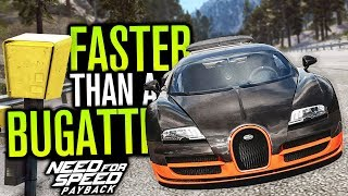 FASTER THAN A BUGATTI?! | Need for Speed Payback Freeroam Online