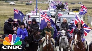 The UK has sent military support to the Falkland Islands, amid concerns that it faces an increased risk of an attack from Argentina, backed by Russia. CNBC's ...