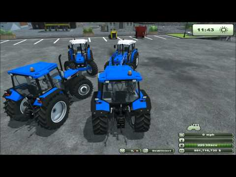 Mod for Farming Simulator 2013 Ford 40s Series and New Holland 8340 REVIEW
