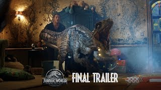 VIDEO: JURASSIC WORLD: FALLEN KINGDOM – Final Trailer