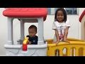 foto Playground Cinta 😍 Memupuk rasa cinta antara Kakak Adik melalui permainan - staycation part III Borwap