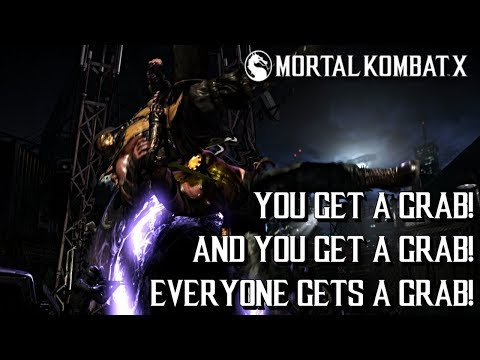 EVERYONE GETS A GRAB! MKX: Ranked Matches With Kano (Commando) (1080P/60FPS)