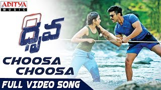 Video Choosa Choosa Full Video Song | Dhruva Full Video Songs | Ram Charan,Rakul Preet | HipHopTamizha MP3, 3GP, MP4, WEBM, AVI, FLV Desember 2018