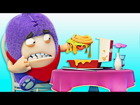 Oddbods | Fine Dining | Funny Cartoons For Children | Oddbods & Friends