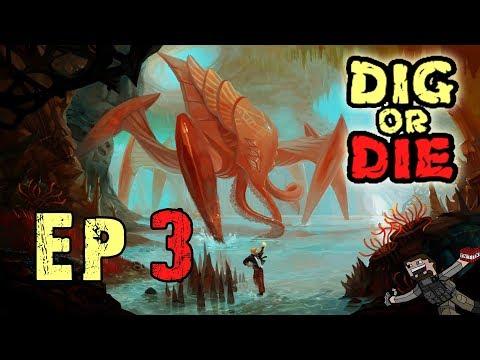 Dig or Die (Season 1) Ep 3 - Auto Repair Turrets