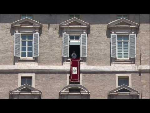 Video: Buổi đọc Kinh Truyền Tin Trưa Chúa Nhật, 22 tháng Năm, 2016