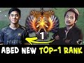Abed new TOP-1 RANK stolen from InYourDream — new SEA king