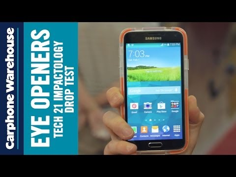 Drop test - Samsung Galaxy S5 case by Tech 21