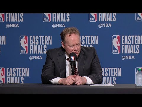 Mike Budenholzer Postgame Interview - Game 6 | Raptors Vs Bucks | 2019 NBA Playoffs