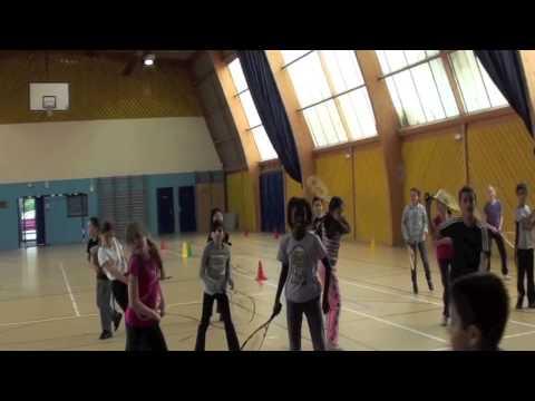 Speed badminton - Séance speed badminton en milieu scolaire à Jules Ferry