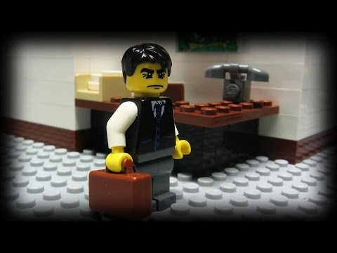 lego - A Lego man shows us that doing nothing at work is harder than it looks... Music provided by Kevin MacLeod (incompetech.com). Selections taken from the follow...