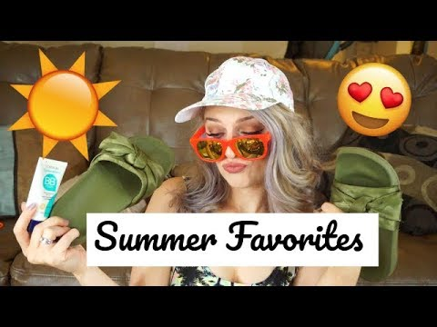 Summer Faves 2018! Fashion, Fitness, Books, & Beauty!