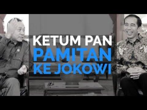 Ketum PAN Pamitan Ke Jokowi