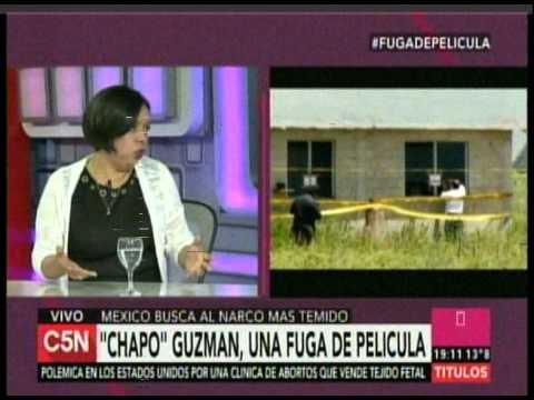 C5N – MUNDO: CHAPO GUZMAN, UNA FUGA DE PELICULA