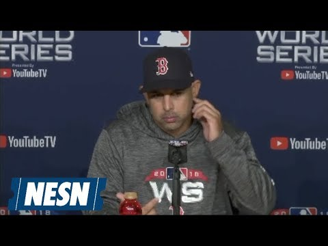 Video: Alex Cora 2018 World Series Game 3 Postgame Press Conference