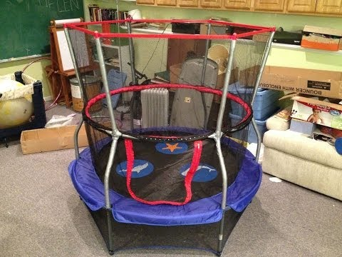 How to Assemble a Skywalker Trampolines 60 Inch Round Seaside Adventure Bouncer with Enclosure