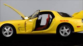 AUTOart Mazda Anfini RX 7 FD3S Initial D Legend