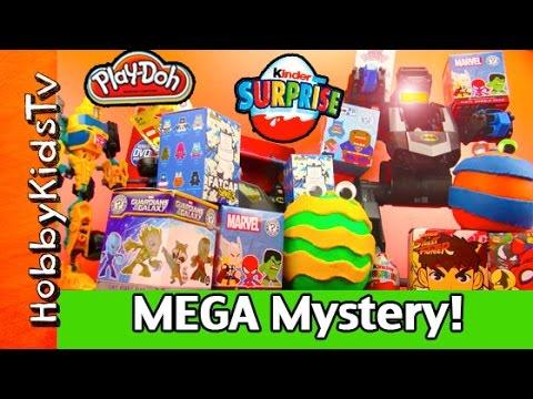 opening - HobbyKidsTV presents Blind Box Opening Kidrobot Funko Kinder Surprise Play-Doh Episode 6. In this Episode we have Marvel Funko Mini Mystery's, Chaos Bunny's, Kidrobot Fatcaps, Kinder Surprise,...