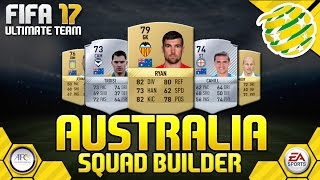 Risdon Australia  city pictures gallery : FIFA 17 AUSTRALIA SQUAD BUILDER | FULLY INDEPTH w/ PERFORMANCE + INGAME STATS |