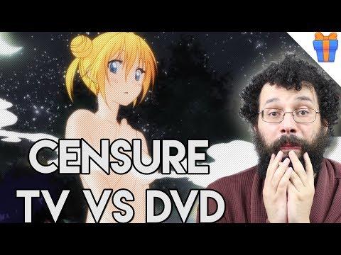 Censure des anime au Japon : TV vs DVD - Ermite VLOG