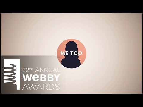 The Webbys honors Susan Fowler as Person of the Year Video at the 22nd Annual Webby Awards