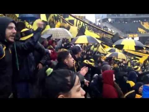 La hinchada de Peñarol frente a Plaza Colonia| Clausura 2016. - Barra Amsterdam - Peñarol