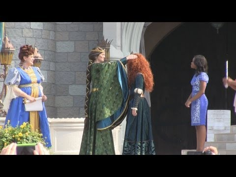 Princess - On May 10, 2013, Merida, DisneyPixar's first princess from the film 