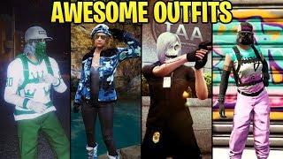 GTA Online: Fashion Friday (IAA Agent, Aqua Vigilante, Colorful RNG Outfits & More)