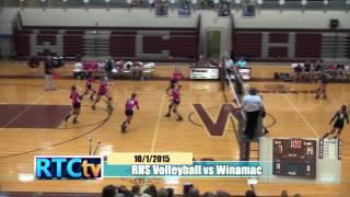 Rochester High School Volleyball vs Winamac