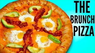 THE BREAKFAST PIZZA DIY  How Tothis is how to make a giant diy breakfast pizza y'all! or brunch pizza YAS! this pizza is actually so delicious! the crust is stuffed with sausage and cheese and it has bacon, eggs, and a green chili salsa on top! if i didn't over cook it it would have been PERFECT lol i hope you guys like this video!WATCH MY LAST VIDEO: https://youtu.be/ZUK7vNINF0UFOLLOW ME!Twitter  @TimmysWellInstagram  @TimmyswellSnapChat  timmyalvarezYounow  TimmyTimatobasically what i did in this how to breakfast pizza diy was i made my pizza sauce! which was actually green chili salsa! i blended up green chilis with tomatoes and onions and seasonings! then i stuffed the pizza crust with breakfast sausage and cheese and i stretched it out until it was pretty giant! I then added my toppings to my pizza which were eggs, bacon, cheese, and my salsa! i then baked the pizza until it was done! this was such a good breakfast pizza, but it would have been even better if i didn't over cook it LOL thank you guys so much for watching this DIY, leave a comment and a like!