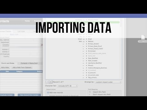 009 How to Import Data into FileMaker Pro