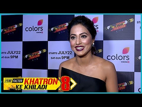 Hina Khan Opens Up About Khatron Ke Khiladi 8 WINNER | Interview (видео)