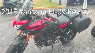5. 2015 Yamaha FJ09 Motorcycle Review Ride