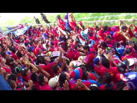 RECIBIMIENTO AL MAS GRANDE A CD FAS EN OPICO - Turba Roja - Deportivo FAS