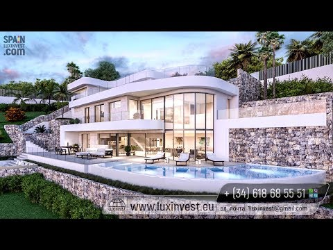 Exclusive villa in high-tech style in Benissa (Calpe). Luxury Real Estate at the Costa Blanca, Spain