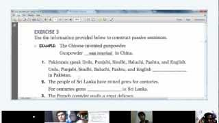 High Advanced English - Lesson 11 - Grammar: Passive Voice: Review And Expansion