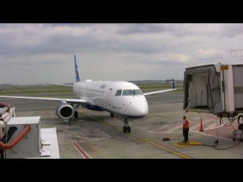 jetblue - Taped in August 2009. First flight on Jet Blue and the E-190. I am very, very impressed with both !