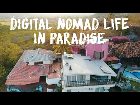 DIGITAL NOMAD LIFESTYLE IN PARADISE