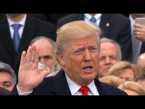 Highlights from President Donald Trump's inauguration